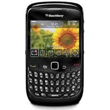 BLACK BLACKBERRY 8520 SMART MOBILE phone-unlocked con NUOVA CASA CGR & GARANZIA.