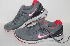 Nike Lunar Eclipse 3 + zapatos para correr, de #555398-060, Gris/Rojo/Negro, nos para Mujer 8