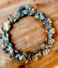 Rare Collectible Vintage Dresden 11� Brass Holiday Wreath on Pine Cones/Branches
