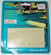 Tri-Ang Minic Port Straight Quays NEW IN BOX