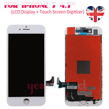 For Apple iPhone 7 LCD Touch Screen Display Digitizer Assembly Replacement White