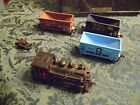 Baltimore & Ohio 98 HO Locomotive Loco Steam Engine Train 3 COAL CARS & BUMPER