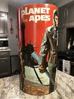 1967 Vintage Planet Of The Apes Cheinco Trash Can Waste Basket 20th Century Fox