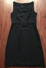 Tory Burch Leith Silk Georgette Navy Blue Dress Size 6