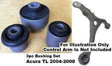 3pcSet Front Lower ControlArm Bushings fit for Acura TL 2004 2005 2006 2007 2008