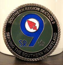 SR-9 Challenge Coin - Coosa Alibamu Aracoma Egwa Mowogo Echeconnee Waguli