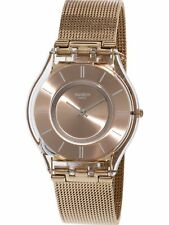 Swatch Women's Skin SFP115M Rose-Gold Stainless-Steel Plated Fashion Watch