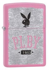Zippo Unisex Playboy Bunny Zippo Lighter 1953 Pink Matte Windproof