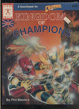 Kingdom of Champions Sourcebook #410 new/sealed NOS Phil Masters rare  MBX101