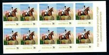 2014 Australia Equestrian Events Cross Country Stamp Sheet. Mnh