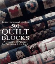 Better Homes and Gardens 501 Quilt Blocks: A Treas