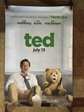 TED ORIGINAL 27x40 MOVIE POSTER (2012) WAHLBERG & KUNIS