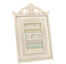 "Cream Scroll Family Wedding Wooden Photo Frame 6""x4"" Standing Picture Portrait"