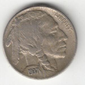 USA BUFFALO NICKEL 1937                 236A       BY COINMOUNTAIN