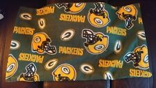 Used Green Bay Pillow Case Smaller Size Pillow Case