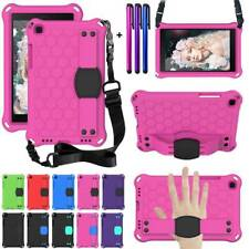 "For Samsung Galaxy Tab A 8"" T290 T295 Kids EVA Handle Shoulder Strap Case Cover"