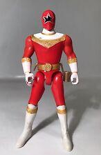 """Vintage Power Rangers Zeo Red Ranger V 5"""" Sword Action Figure Bandai 1996 Star"""