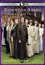 Masterpiece: Downton Abbey - Season 1 (DVD, 2014, 3-Disc Set, Canadian French)