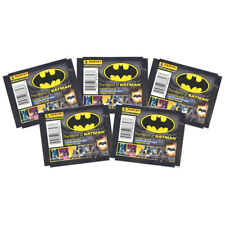 Panini - The World of Batman Sticker Collection - 5 PACK LOT (35 Stickers Total)