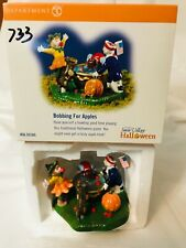 2002 Department 56 Bobbing for Apples Halloween #56-55185 New