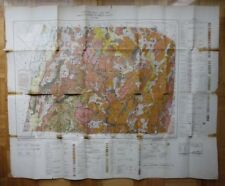 Geologic Map SHEFFORD COUNTY Quebec 1946 Canada ST1002001018