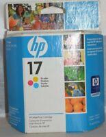 HP Genuine 17 Tri-Color Ink Cartridge - Expired - Original Packaging