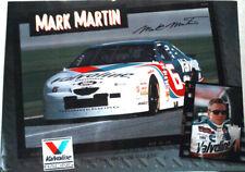 MARK MARTIN VALVOLINE # 6 NASCAR 96 POSTER NEW  MAN CAVE!