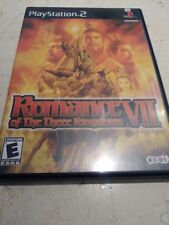 Romance of the Three Kingdoms VII PS2 Complete