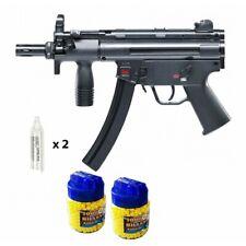 Heckler & Koch MP5 K Fusil à billes CO2 métal + 2000 billes + 2 caps CO2 - Airso