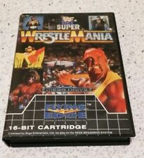 WWF Super WrestleMania Sega Mega Drive
