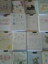 50 BABY AND CHRISTENING CARDS, WHOLESALE JOBLOT GREETING CARDS