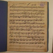 Haydn Sinfonia 13, Viola parte, Antico Manoscritto Musica #2