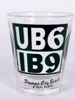 "UB6 IB9 Yin Yang Panama City Beach Florida 2.25"" Collectible Shot Glass"
