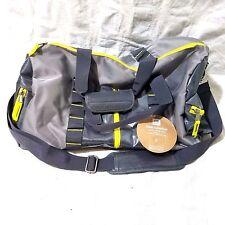 Pottery Barn Teen Duffel Sport Gym Travel Bag Gray