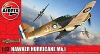 Airfix Model Kit HAWKER HURRICANE MK1 Scale 1:72 WWII Military War Aircraft 010A