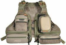 Airflo Mesh Vest Waist Coat One Size Lightweight Multi Pockets D Rings   NEW