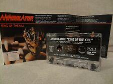 ANNIHILATOR King Of The Kill / 1994 / MC, CASSETTE ( EX )