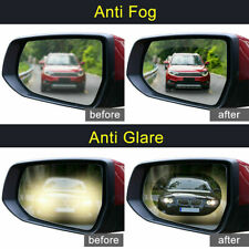 2Pcs Car Anti Water Mist Film Anti Fog Rainproof Rearview Mirror Clear vision UK