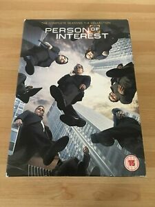 PERSON OF INTEREST COMPLETE SERIES 1-4 DVD Collection Season 1 2 3 4 UK Release