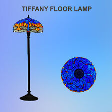 Tiffany Dragon Design Floor Lamp Handcrafted Bedroom Living room Stained GlasS