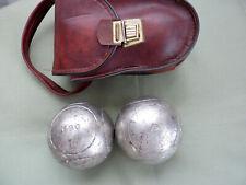 petanque - 2 boules - JB PETANQUE - 690 gr - D= 75 mm - sacoche