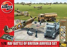 AIRFIX Gift Set A50015 RAF Battle of Britain Airfield Set - 1:76 Scale