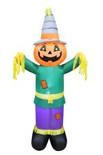 Halloween Thanksgiving Air Blown LED Inflatable Art Decoration Scarecrow Pumpkin