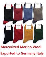 Mongolia Mercerized Merino Wool Women Woman Man Men Breathable Warm Socks