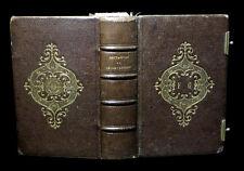 Reliure THEOLOGIE Minuscule Imp. CHATILLON-sur-SEINE L'Imitation de Jésus-Christ