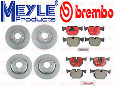 BMW E39 M5 2000-2003 Set of Front and Rear Disc Brake Rotors and Pads NEW