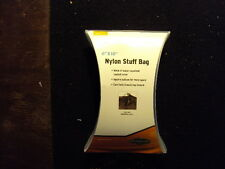 "Stansport Nylon Stuff Bag  6""x10"""