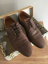 Mens Brown Leather Shoes Size 8 River Island