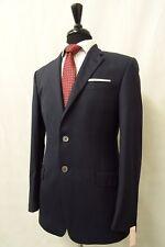 Men's Paul Smith Slim Fit Navy Checked Suit Jacket Blazer 38R CC7827