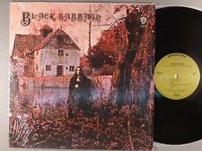 Black Sabbath Self-Titled Green Label Shrink Wrap Hard Rock